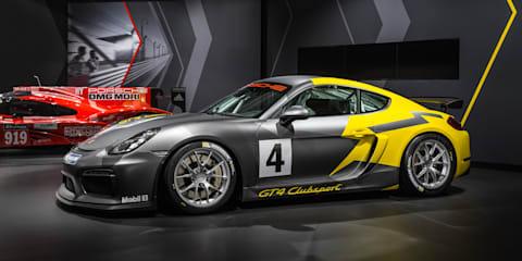 Porsche Cayman GT4 Clubsport unveiled in LA - UPDATE