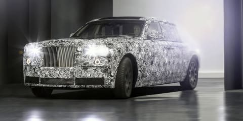2018 Rolls-Royce range going aluminium: On-road testing begins