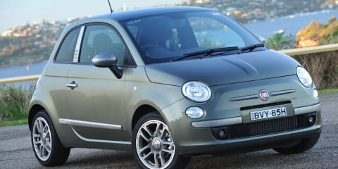 2011 Fiat 500 Diesel on sale in Australia... but it's not what you're thinking