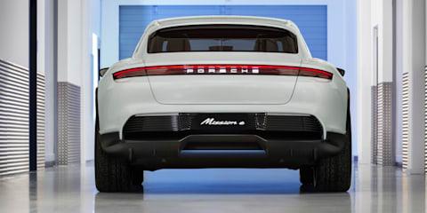 Porsche Mission E Cross Turismo revealed