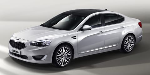 2013 Kia Cadenza revealed; no RHD version planned for Australia