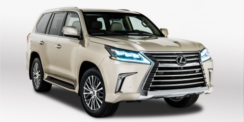 2018 Lexus LX570 five-seater revealed, not coming to Oz