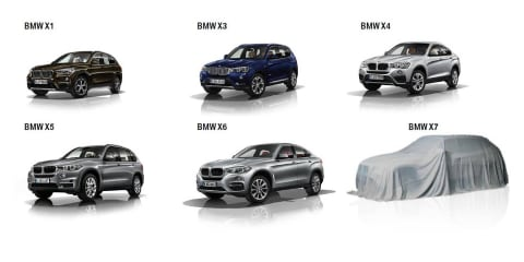 2018 BMW X7 teased at annual press conference