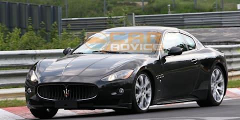 Maserati GranTurismo test mule spied at the 'Ring