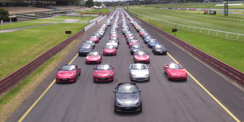Mazda's got a posse: Records broken at Mazda MX-5 Fan Fest