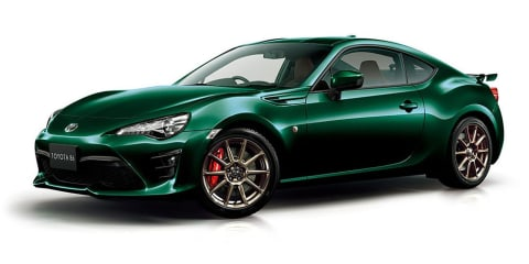 Toyota 86 British Green Limited revealed for Japan