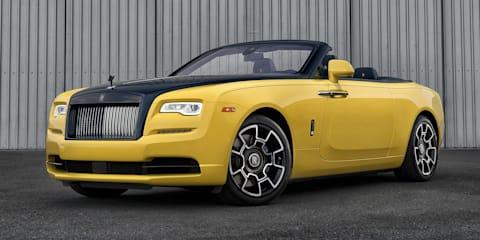 Rolls-Royce Ben Sloss Dawn Black Badge revealed