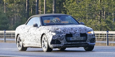 2017 Audi A5 cabriolet and interior spy photos