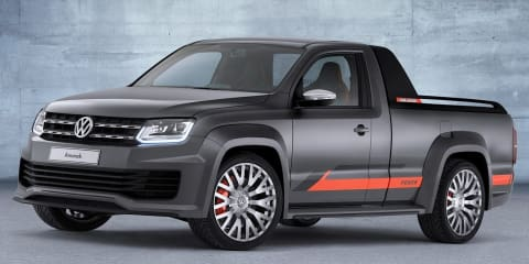 Volkswagen Amarok Power concept to make noise at 2014 Wörthersee