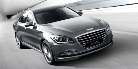 Hyundai Genesis sedan coming to Australia