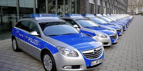Opel Insignia Sports Tourer wagons adopted by German police