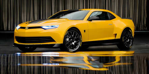 Transformers 4 Bumblebee Chevrolet Camaro revealed