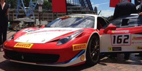 First run of Ferrari Racing Days planned for Sydney