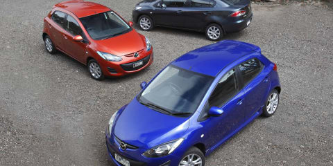 2010 Mazda2 five-door hatch & new sedan models now available
