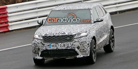 Range Rover Velar SVR spied