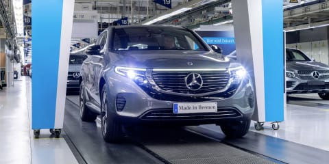 2020 Mercedes-Benz EQC starts production