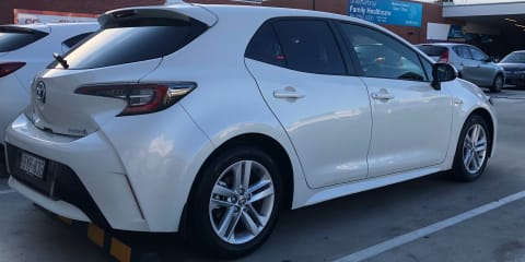 2018 Toyota Corolla Sx (hybrid) review
