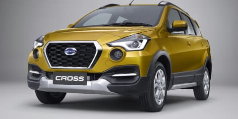 Datsun Cross revealed in Indonesia