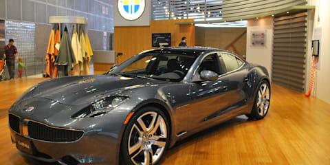 2012 Fisker Karma at LA Auto Show
