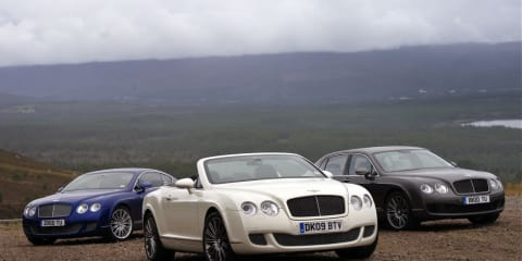 Bentley - On Speed in Scotland
