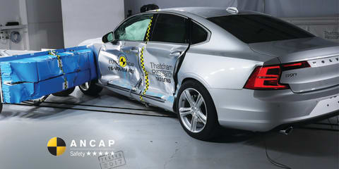 Audi A5, Hyundai Ioniq, Volvo S90 awarded five-star ANCAP safety ratings