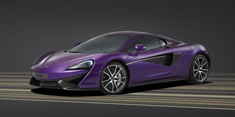 McLaren 570S :: one-off purple special to be displayed at Pebble Beach