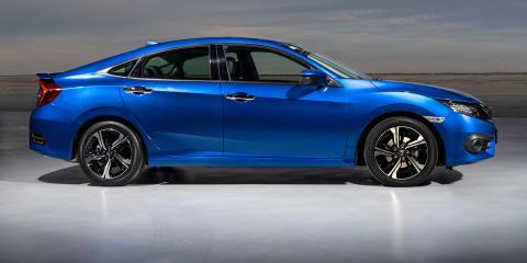 2016 Honda Civic sedan pricing and specifications