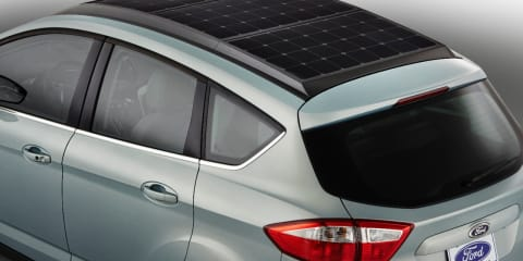 Ford C-Max Solar Energi : sun-powered concept revealed