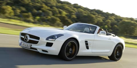 Mercedes-Benz SLS AMG Roadster unveiled