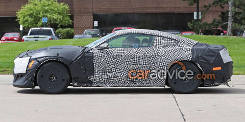 2018 Ford Mustang Shelby 'GT500' spy photos