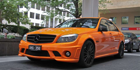 "Mercedes-Benz C 63 AMG – ""Jaffa"" edition photographs"