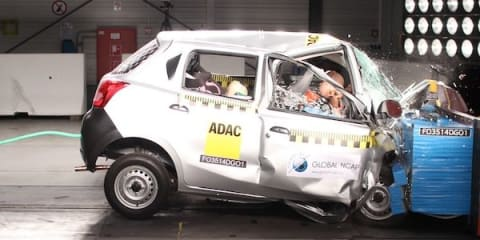 Datsun Go, Maruti Suzuki Swift score zero stars in global NCAP crash tests