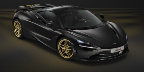MSO 720S honours Bruce McLaren in Dubai