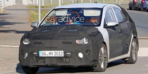 2020 Kia Rio facelift spied