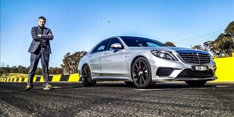 Mercedes-Benz S63 AMG Review: Track Test
