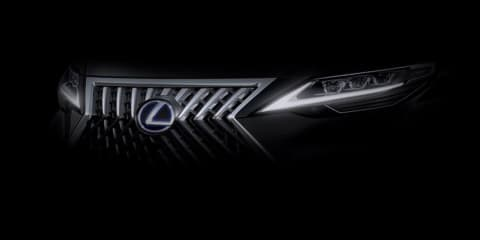 Lexus teases people mover