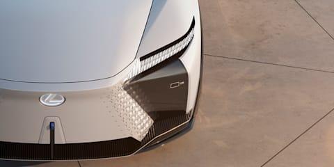 Lexus LF-Z Electrified: 400kW all-electric concept revealed