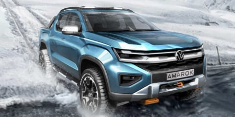 2023 Volkswagen Amarok teased in new render