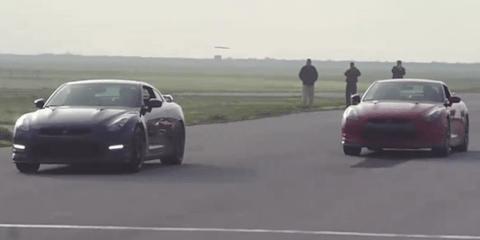 Video: 2012 Nissan GT-R vs 2010 Nissan GT-R