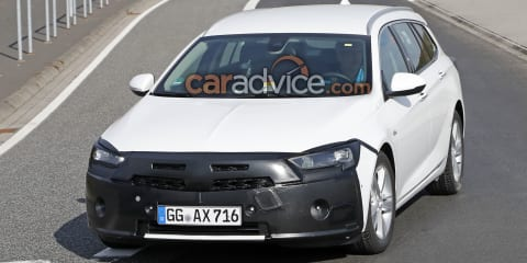 2019 Holden Commodore/Opel Insignia wagon facelift spied