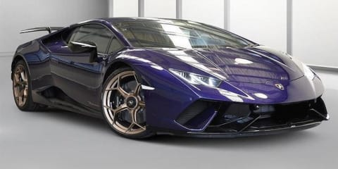 Lamborghini Huracan Performante seized under new 'anti-hoon' laws, listed for auction by Queensland Police