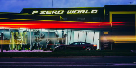 Pirelli P Zero World opens in Melbourne