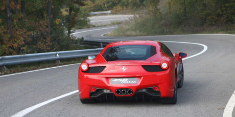 Recession forces Italians to sell their Ferraris
