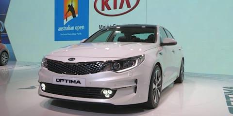 2016 Kia Optima Walkaround : 2015 Frankfurt Motor Show