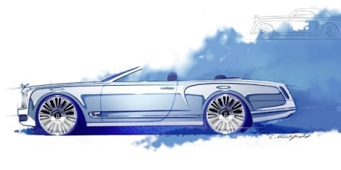Bentley Mulsanne Convertible axed