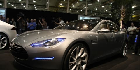 Tesla Model S Unveiled