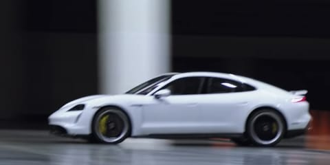 2021 Porsche Taycan Turbo S clocks 165km/h indoors, breaking Guinness World Record