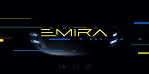 2021 Lotus Emira previewed as brand's last petrol-powered sports car