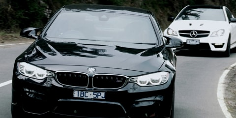 BMW M4 v Mercedes-Benz C63 Edition 507 - Teaser