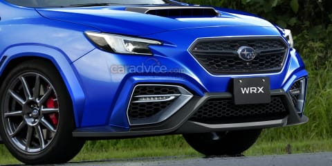 2022 Subaru WRX imagined as new spy photos surface